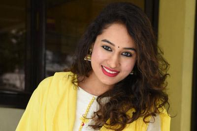Pooja Ramachandran Stills at LAW Movie Success Meet