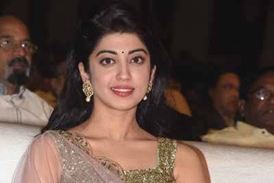 Pranitha Subhash at NTR Biopic Pre Release Event