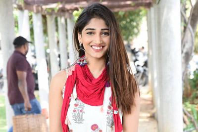 Priya Vadlamani Stills at Subhalekha + Lu Pressmeet
