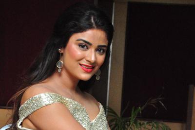 Priyanka Sharma Stills At Mera Bharath Mahan Audio Launch