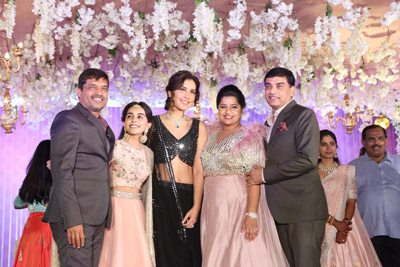 Raashi Khanna at Dil Raju Nephew Harshith Reception Event