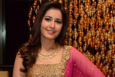 Raashi Khanna Stills at Srinivasa Kalyanam Success Meet