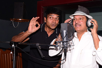 Rajendra Prasad Dubbing For Adhugo Movie