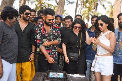 Ram Birthday Celebration in Ismart Shankar Sets In Goa