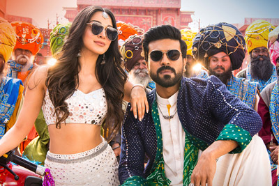 Ram Charan and Kiara Stills From Vinaya Vidheya Rama
