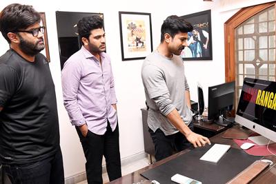 Ranarangam Sound Cut Trailer Launch By Ram Charan