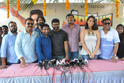 Rangasthalam Movie Team Press Meet at Location