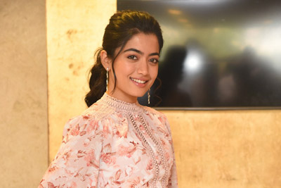 Rashmika at Bheeshma Movie Team Thanks Success Meet