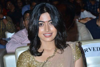 Rashmika Mandanna Stills at Geetha Govindham Pre Release
