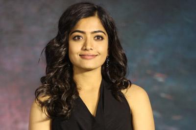 Rashmika Mandanna Stills at Sarileru Neekevvaru Team Thanks Meet