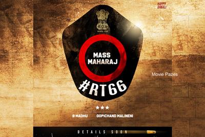 Ravi Teja 66 Movie Shoot Starts Soon