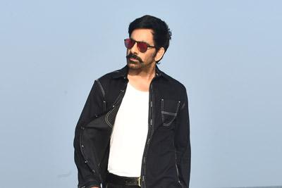 Ravi Teja Still From The Movie Krack