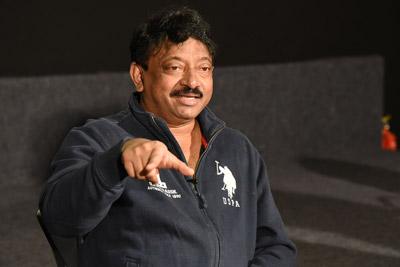 RGV Stills At Interview About Bhairava Geetha