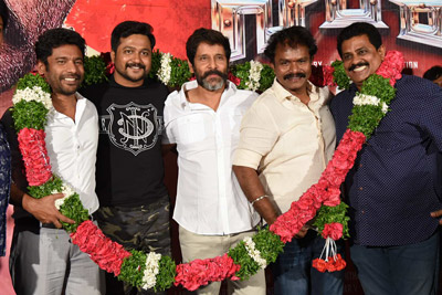 Saamy Movie Trailer Launch Event Stills