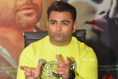 Sachiin Joshi at Amavas Movie Pre Release Event