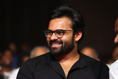 Sai Dharam Tej Stills at Tej I Love You Audio Launch