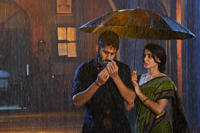 Samantha and Naga Chaitanya Still From Majili