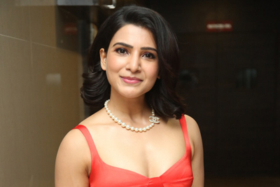 Samantha at Oh Baby Movie Pre Release Event