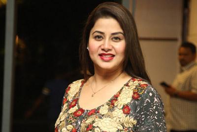 Sangeetha Stills at Sarileru Neekevvaru Team Thanks Meet