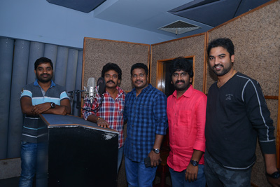 shankar-dubbing-at-studio-for-shambho-shankara