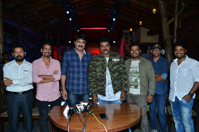 Sunil And Srikanth Stills On The Sets of Operation 2019