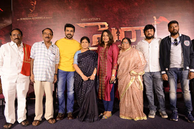Syeraa Narasimha Reddy Movie Teaser Launch Stills