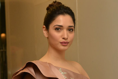 Tamannah at F2 Movie Pre Release Event