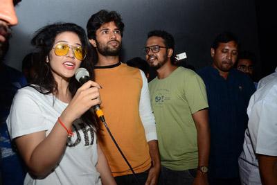 Taxiwala Team Hungama At Theatres
