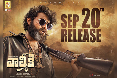 Valmiki Movie is All Set Release on 20th September