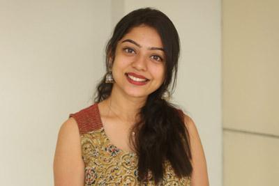Varsha Bollamma at Chusi Chudangane Movie Team Success Meet
