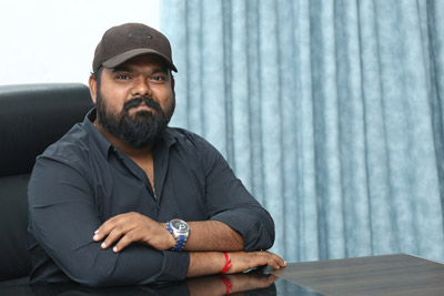 Venky Kudumula Stills at Interview About Bheeshma