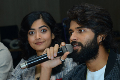 Vijay And Rashmika Interview About Dear Comrade
