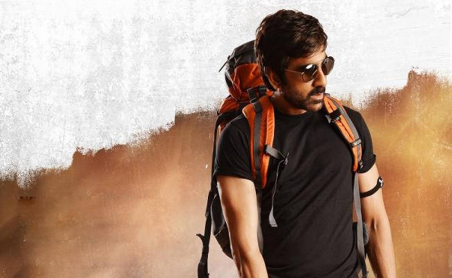 Ravi Teja's  Raja the Great- Logo poster opening!
