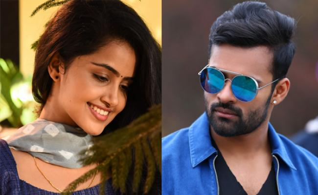 Sai Dharam Tej and Anupama Parameshwaran tag along