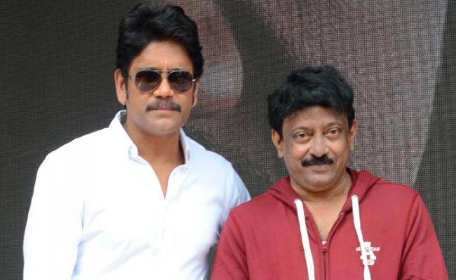 R.G.V - Nagarjuna film kicks off after 28 years