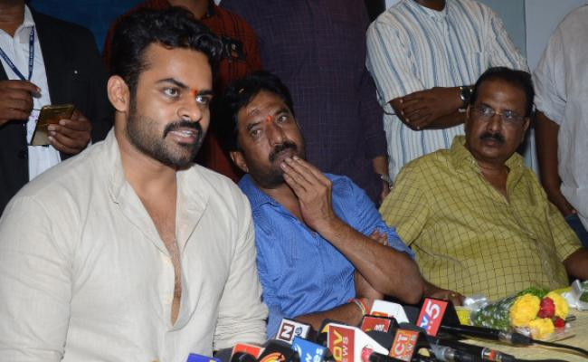 Sai Dharam Tej's quirky reply to a reporter