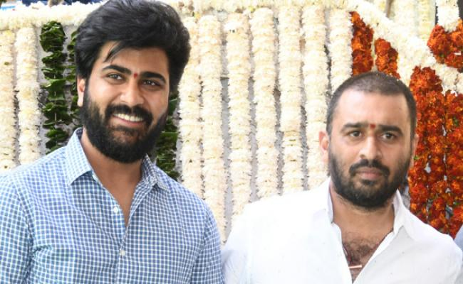 Sharwanand in a dual role