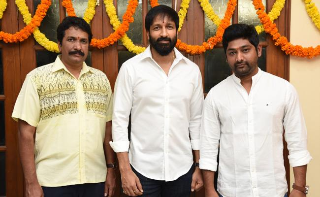 Gopichand Next Film Launched!