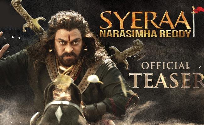 Sye Raa Narasimha Reddy Teaser - Power Packed