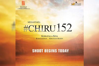 chiranjeevi-152nd-movie-shoot-started