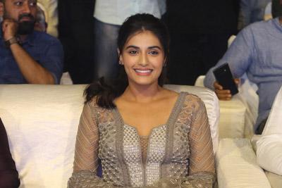 Divyansha Kaushik at Majili Movie Pre Release Event