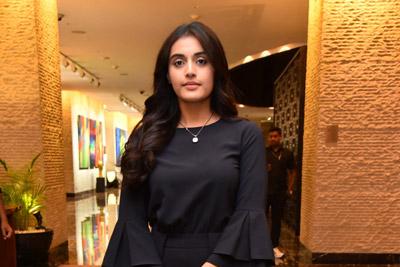 Divyansha  Kaushik at Majili Movie Team Success Celebration Meet