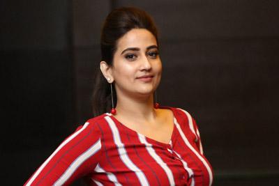 Manjusha at Majili Movie Team Success Celebration Meet