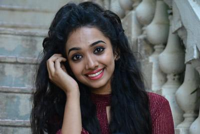 Shanvi Meghana at Chikati Gadilo Chithakottudu Pre Release